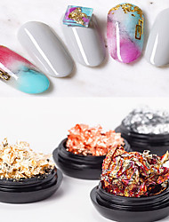 billige -1 pcs Folie Sticker Romantisk Serie / Kreativ Negle kunst Manicure Pedicure Bedste kvalitet Stilfuld Daglig