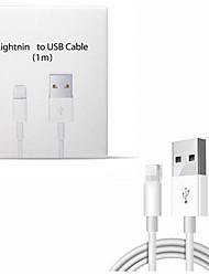 Недорогие -2 шт. Для iphone кабель оригинальный 2a кабель быстрой зарядки для iphone xs max xr x 8 7 6 6 s 5 5S ipad шнур зарядное устройство мобильного телефона USB-кабели