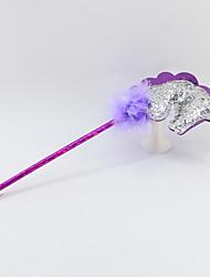 Χαμηλού Κόστους -pu μπάλα στυλό πλαστικό / μπάλα μαλλιά 5 mm στυλό μπλε μολύβι μολύβι οδηγήσει περισσότερα χρώματα για το γραφείο&αμπέραζ; σχολικές προμήθειες