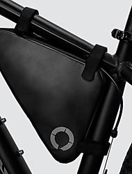 Недорогие -ROSWHEEL 1.5 L Бардачок на раму Сумка с треугольной рамкой Водонепроницаемость Теплоизоляция Прочный Велосумка/бардачок Ткань 420D Нейлон 300D полиэстер Велосумка/бардачок Велосумка Велосипедный спорт
