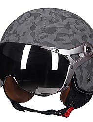Недорогие -полушлем для взрослых унисекс мотоциклетный шлем легкая повязка / воздухопроницаемый