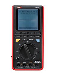 Недорогие -uni-t ut81c частота дискретизации в реальном времени ручной осциллограф, цифровой мультиметр, измеритель емкости, постоянный ток, сопротивление