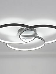 hesapli -38 w modern stil yuvarlak şekil led tavan lambası gömme montaj oturma odası yatak odası yemek odası lambası