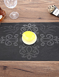 halpa -4-osainen Coasters Tarjoiluvadit Työkalut Astiat PVC Heatproof Uusi malli Luova