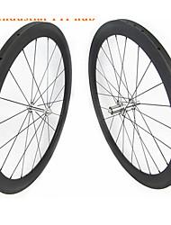 Недорогие -FARSPORTS 700CC Колесные пары Велоспорт 25 mm Шоссейный велосипед Углеродное волокно Однотрубка 20/24 Спицы 60 mm