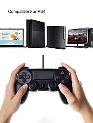 Недорогие -PS4 контроллер проводной джойстик проводной игровой контроллер