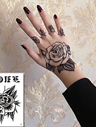 저렴한 -5 pcs 임시 문신 방수 / 최고의 품질 상박 타투 스티커