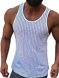 povoljno -Potkošulja Muškarci Prugasti uzorak Obala XL