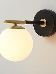 hesapli -kuzey avrupa modern metal aplik cam duvar lambası oturma odası yemek odası yatak odası