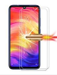 Недорогие -XIAOMIScreen ProtectorXiaomi Redmi Note 7 HD Защитная пленка для экрана 2 штs Закаленное стекло