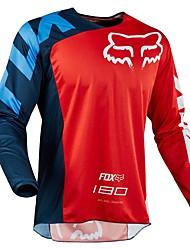 Недорогие -новая лиса голова мотоцикла беговая рубашка с длинными рукавами быстросохнущая футболка мотоцикл горный велосипед скоростной сервис быстросохнущий жилет
