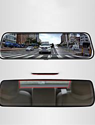 Недорогие -1080p Автомобильный видеорегистратор 170° Широкий угол 10 дюймовый IPS Капюшон с Ночное видение / Режим парковки / Обноружение движения Автомобильный рекордер