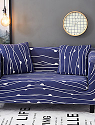 cheap -Sofa Cover High Stretch Wave Point Printed Soft Elastic Polyester Slipcovers