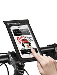 Недорогие -ROSWHEEL Сотовый телефон сумка Бардачок на руль 6.2 дюймовый Сенсорный экран Водонепроницаемость Компактность Велоспорт для Samsung Galaxy S6 Samsung Galaxy S6 edge LG G3 Черный / iPhone XS Max