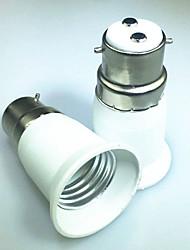 cheap -1pc B22 to E27 E14 100-240 V Converter Plastic Light Bulb Socket
