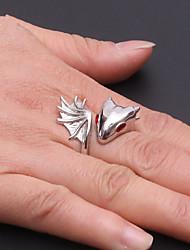 Недорогие -Для пары манжета кольцо 1шт Серебряный Красный Синий Медь Массивный Подарок Бижутерия