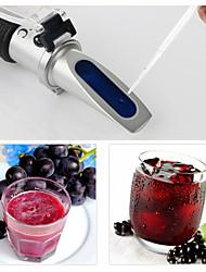 Недорогие -rz алкоголь рефрактометр концентрация сахара виноградного вина 0 ~ 25% алкоголя 0 ~ 40% brix тестер метр atc rz121 ручной инструмент