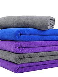Недорогие -1шт полотенце из микрофибры удобное темно-синее 60 * 160 см