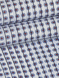 cheap -Cotton Geometric Inelastic 140 cm width fabric for Apparel and Fashion sold by the Meter