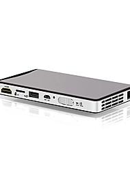 Недорогие -Фабрика OEM 100 МВт DLP мини-проектор светодиодный проектор 60 лм поддержка 1080 P (1920x1080) 20-138-дюймовый экран
