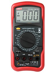 Недорогие -uni-t ut53 ac dc ом амперметр вольтметр тестер метр стандартный жк-цифровой мультимер с измерением температуры