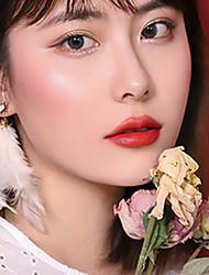 abordables -1 pcs 9 colores Maquillaje de Diario Que lleva / Fácil de llevar / Mujer Seco Portátil / Casual / Diario Simple / Portátil Maquillaje Cosmético Útiles de Aseo