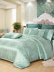 povoljno -Poplun Cover Sets Luksuz Poly / Cotton / 100% Tencel Jacquard 4 komadaBedding Sets