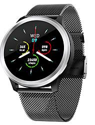 Недорогие -BoZhuo E18 Мужчина женщина Смарт Часы Android iOS Bluetooth Водонепроницаемый Пульсомер Измерение кровяного давления Спорт Израсходовано калорий ЭКГ + PPG / Педометр / Напоминание о звонке