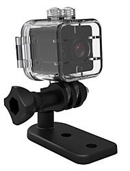 Недорогие -SQ12 ведет видеоблог На открытом воздухе / Высокое разрешение / Водоотталкивающие 32 GB 30fps Нет Нет экрана (выход на APP) MJPEG Один снимок 15 m / Большой угол