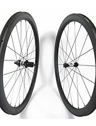 Недорогие -FARSPORTS 700CC Колесные пары Велоспорт 28 mm Шоссейный велосипед Углеродное волокно Клинчерная покрышка 20/24 Спицы 45 mm