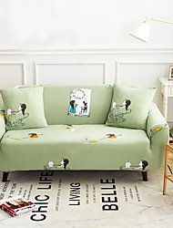 cheap -Sofa Cover High Stretch Lovely Printed Soft Elastic Polyester Slipcovers