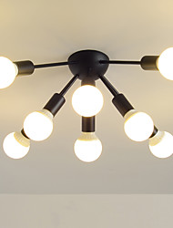 hesapli -JSGYlights 8-Işık Küme Gömme Montajlı Işıklar Ortam Işığı Boyalı kaplamalar Metal Yeni Dizayn 110-120V / 220-240V