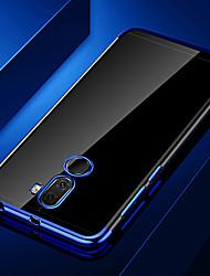 Недорогие -Кейс для Назначение Huawei Huawei Honor 10 / Honor 10 Lite / Honor 9 Покрытие / Прозрачный Кейс на заднюю панель Прозрачный Мягкий ТПУ