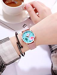 Недорогие -Жен. Кварцевые На каждый день Мода Черный Синий Красный ТПУ Китайский Кварцевый Розовый Серый Лиловый Новый дизайн Повседневные часы 1 ед. Аналоговый Один год Срок службы батареи