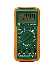 Недорогие -лучший 9205 м профессиональный жк-цифровой мультиметр вольтметр омметр амперметр тестер с зуммер тестер против dt830b rm101 dt9205