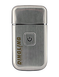 tanie -Kemei Elektryczne maszynki do golenia na Męskie 200-240 V Niskoszumowy / Projekt kieszonkowy / Bezprzewodowe użycie