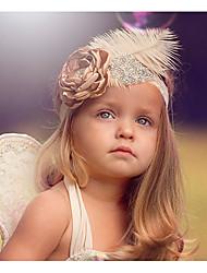 Недорогие -Дети (1-4 лет) Девочки Классический / Милая маргаритка Цветочный принт / Птица Цветочный стиль Кружева Аксессуары для волос Розовый Один размер