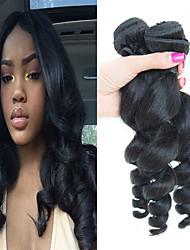 저렴한 -4 묶음 브라질리언 헤어 루즈 웨이브 버진 헤어 인간의 머리 직조 익스텐션 번들 헤어 8-28inch 자연 색상 인간의 머리 되죠 워터팔 소프트 새로운 도착 인간의 머리카락 확장 여성용
