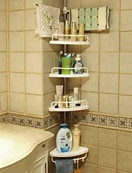 levne -Polička do koupelny kreativita Moderní Kov 1ks - Koupelnové Nástěnná montáž