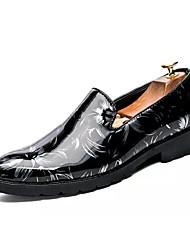 abordables -Homme Chaussures de confort Polyuréthane Eté Mocassins et Chaussons+D6148 Respirable Noir / blanc / Noir / Rouge / noir / vert