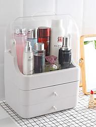 levne -kosmetické skladovací box s zásuvkou typ prostoru dokončovací krabice prach flip kryt přenosné péče o pleť box