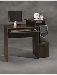 Недорогие -Компьютерный стол из темного дерева шириной 40 дюймов