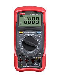 Недорогие -uni-t ut56 цифровой мультиметр true rms ручной диапазон 20000 отсчетов 20a 1000v сопротивление емкость частота мультиметр uni-t