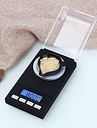 Недорогие -0,005 г-50 г цифровой прецизионные электронные весы лабораторные медицинские весы жк-дисплей портативные ювелирные весы грамм весы