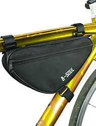 Недорогие -B-SOUL 1.8 L Бардачок на раму Сумка с треугольной рамкой Компактность Прочный Велосумка/бардачок Терилен Велосумка/бардачок Велосумка Велосипедный спорт