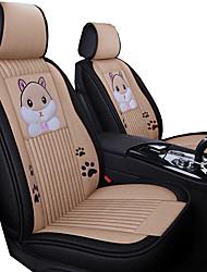 Недорогие -чехол на сиденье автомобиля летом мультфильм подушка сиденья автомобиля прохладный воздухопроницаемый лед пять мест / общие моторы
