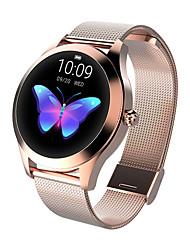 Недорогие -kw10 мода умные часы женщины прекрасный браслет монитор сердечного ритма мониторинг сна smartwatch подключить IOS Android