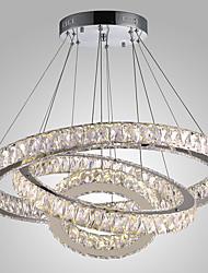 Недорогие -Светодиодные хрустальные светодиодные подвесные светильники современные люстры свет люстры потолочные светильники крытый подвесной светильник домашние светильники светильники с дистанционным