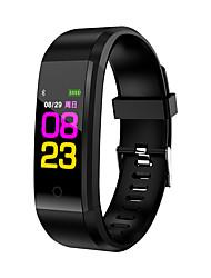 Недорогие -Z-YeuY 115plus Мужчина женщина Смарт Часы Android iOS Bluetooth Сенсорный экран Спорт Израсходовано калорий Длительное время ожидания Smart