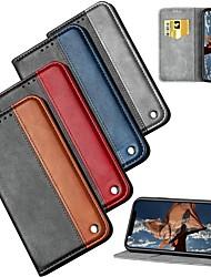 Недорогие -чехол для яблока iphone xr / iphone xs max магнитный / ультратонкий / флип чехлы для тела геометрический рисунок роскошная искусственная кожа для iphone 5 / se / 5s / iphone 6s / 6s plus / iphone 7/7